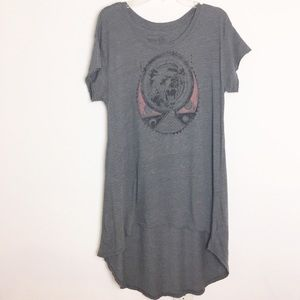 Anthro We the Free High-low T-shirt Dress - L